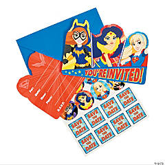 DC SuperHero Girls™ Party Invitations