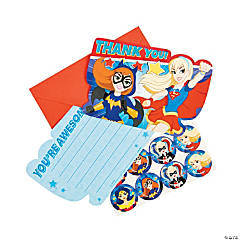 DC SuperHero Girls™ Thank You Cards