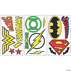 DC Superhero Logos Peel & Stick  Decals