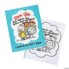 Dear God Color & Activity Books