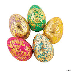 Decorative Foil Easter Eggs