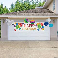 Deluxe Birthday Garage Decorating Kit