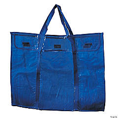 """Deluxe Bulletin Board Storage Bag, Clear, 30"""" x 24"""", Set of 2"""