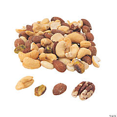 Deluxe Roasted Salted Mixed Nuts - 1 lb.