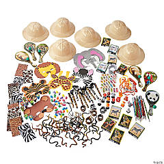 Deluxe Safari Toy Assortment