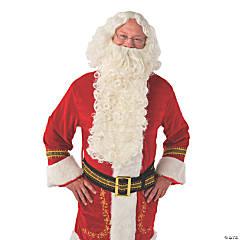 Deluxe Santa Extra Long Wig & Beard Set