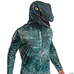 Deluxe Velociraptor Adult Overhead Latex Mask