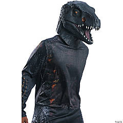 Deluxe Villain Dinosaur Adult Overhead Latex Mask