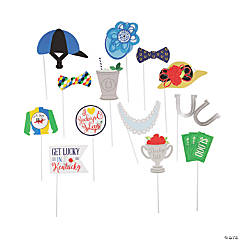 Derby Day Photo Stick Props