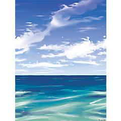 Design-A-Room Pirate Ocean Backdrop