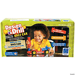 Design & Drill Pwr Play Vehicles Racecar