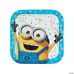 Despicable Me 3™ Square Paper Dinner Plates - 8 Ct.