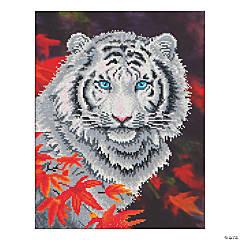 Diamond Dotz-White Tiger in Autumn