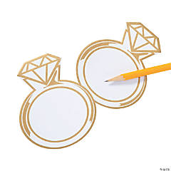 Diamond Ring Sticky Notes