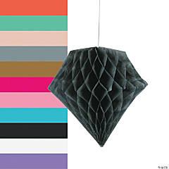 Diamond Tissue Paper Hanging Decorations