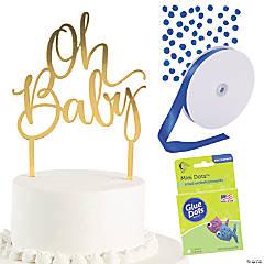 Diaper Cake Kit for a Boy
