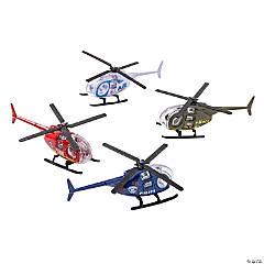 Die Cast Metal Helicopters