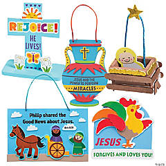 Dig VBS Bible Story-a-Day Craft Assortment for 12