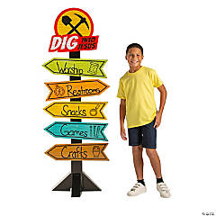 Dig VBS Directional Sign