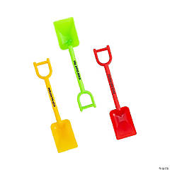 Dig VBS Mini Shovels with Message