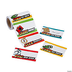 Dig VBS Name Tags/Labels