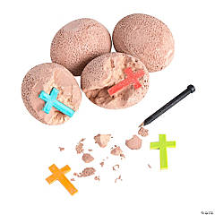 Dig VBS Rocks with Cross Inside