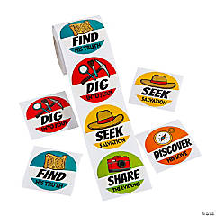 Dig VBS Stickers