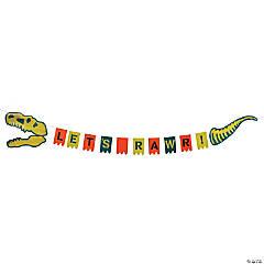 Dino Dig Birthday Garland