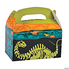 Dino Dig Favor Boxes - 12 Pc.