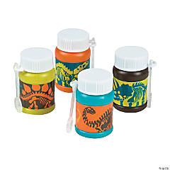 Dino Dig Mini Bubble Bottles