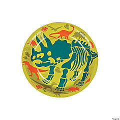 Dino Dig Paper Dessert Plates - 8 Ct.