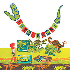 Dino Dig Tableware Kit for 8