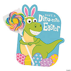 Dino-Mite Easter Lollipops with Card