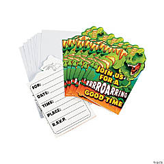 Dino-Mite Invitations