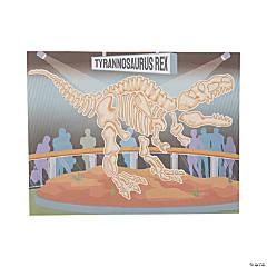 Dinosaur Bones Make-a-Dino Sticker Scene