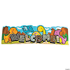 Dinosaur Classroom Welcome Banner