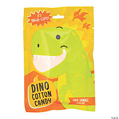 Dinosaur Cotton Candy Packs