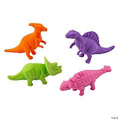 Dinosaur Erasers - 24 Pc.