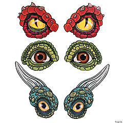 Dinosaur Eye Cutouts