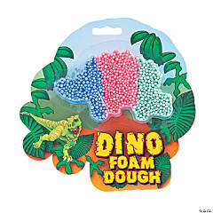 Dinosaur Foam Dough