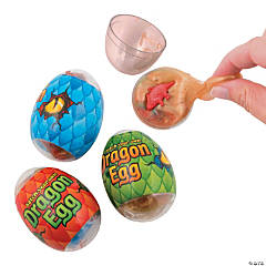 Dinosaur in Slime-Filled Eggs PDQ