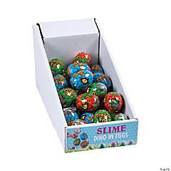 Dinosaur in Slime-Filled Eggs PDQ