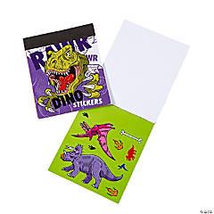 Dinosaur Mini Sticker Books