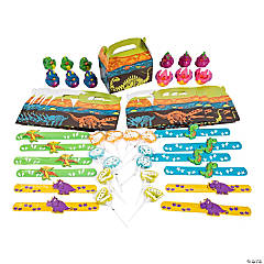 Dinosaur Party Favor Kits for 12