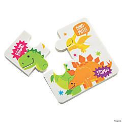 Dinosaur Puzzle Eraser Sets