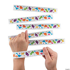Dinosaur Slap Bracelets