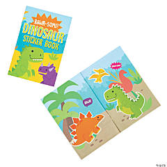 Dinosaur Sticker Scene Books