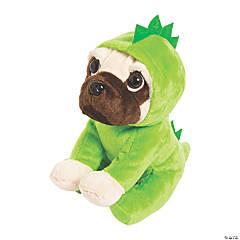 Dinosaur Stuffed Pug