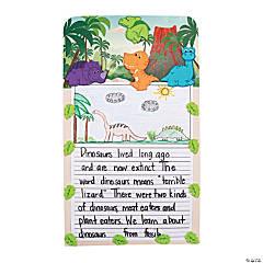 Dinosaur Writing Prompt Craft Kit