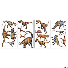 Dinosaurs (Lifelike) Peel & Stick Wall Decals